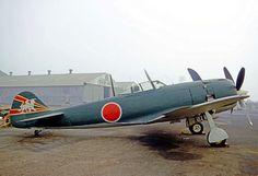 Ki-84 Hayate (Frank) preserved in California in 1970. As of 2014, this aircraft is displayed at a war memorial in Japan