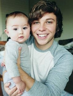 Isn't Isaac cute? Oh and also, Keaton turned eighteen today. :)