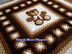 PDF Crochet Pattern to make your own Crochet Teddy by MingazovArt