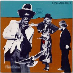 """""""Don Juan's Reckless Daughter"""" is a 1977 double album by the folk/pop/rock musician Joni Mitchell. It is unusual for its experimental style, expanding even further on the jazz fusion sound of Mitchell's """"Hejira."""" Mitchell has stated that she allowed this album to be looser than anything she'd done previously. The album jacket includes several photographs of Mitchell. In the foreground she is in blackface as her """"reputed alter ego, a black hipster named Art Nouveau."""" (Vinyl LP)"""