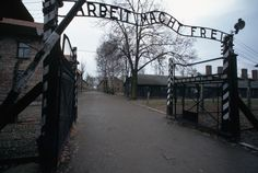 """The phrase on the main entrance gateway to the Auschwitz camp of Auschwitz-Birkenau translates to """"Work will make you free."""" Auschwitz-Birkenau was the largest Nazi concentration camp and extermination camp."""