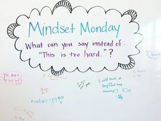 LOVE this approach to Mondays! #miss5thswhiteboard #mondaymotivation