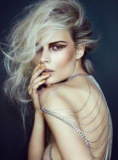 Stockton Johnson Shoots Fall Beauty Looks for Elle Vietnam September 2012