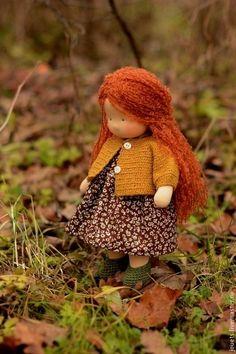 Вальдорфская игрушка Белочка, 36см. Handmade.