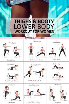 Sexy Leg Toner Lower Body Circuit - Transform Fitspo