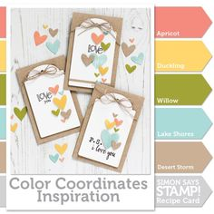 Color Coordinates with Shari Carroll: Sweet Pea!