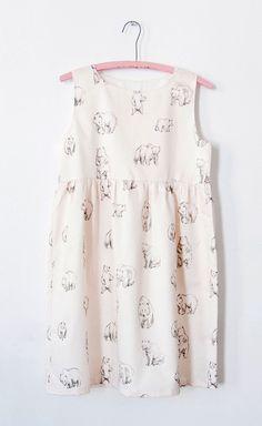 Bears Print Dress