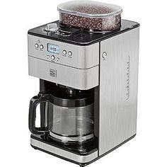 Kenmore Elite Elite 12-Cup Coffee Grinder and Brewer, Stainless Steel