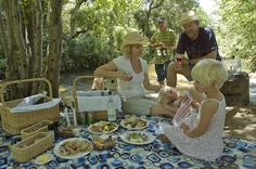 Solms-Delta - What's in the basket PART 2: Shrimp and Franschhoek salmon pâté with capers and fresh lemon, grilled and basted smoked pork soutribbetjies served with caramelised onion and wilde knoffel puff sticks, home-made koeksisters and melktert and 750ml mineral water.