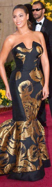 Red carpet fashion dress