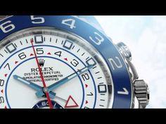 UNE YACHT-MASTER II EN ACIER (Rolex)  ••• La nouvelle robe en acier (grande première !) de la Yacht-Master II (collection 2013), avec son compte à rebours très original pour chronométrer les départs de régate... ••• The new Rolex Yacht-Master II -- unveiled for the first time in 904L steel -- is the benchmark for all those with a passion for sailing. It has a programmable countdown with a mechanical memory that can be synchronized on the fly.