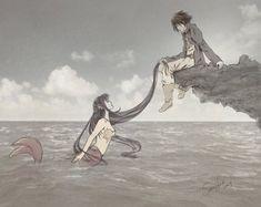 SasuHina - Mermaid by FoxyMcFly on DeviantArt Hinata Hyuga, Naruhina, Naruto Uzumaki, Naruto Gaiden, Shikatema, Narusaku, Naruto And Sasuke, Anime Naruto, Boruto