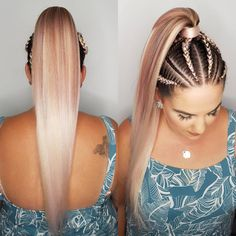 Hair Care Tips. Tips for great looking hair. Your hair is without a doubt precisely what can certainly define you as a person. To several people it is definitely important to have a very good hair do. Blonde Braids, Braids For Long Hair, 2 Braids, Twist Hairstyles, Pretty Hairstyles, Rave Hair, Eminem, Curly Hair Styles, Natural Hair Styles