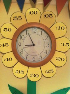 Cool clock for kids to learn time