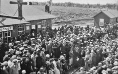 Moosonee Railroad Station official opening