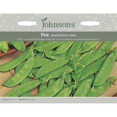 Johnsons Seeds Pea Mangetout Norli