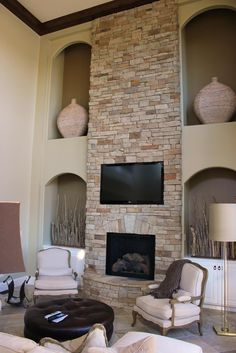 Want To Bring A Fresh Look Your Existing Fireplace Add Rustic Charm Hearth By Incorporating The Style Of Stone Veneer All Around Cur