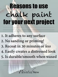 Painted New: Chalk Paint LOVE