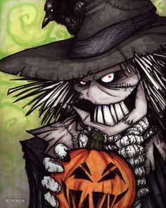 It's Gonna be a Long Halloween by sketchykraft.deviantart.com on @DeviantArt