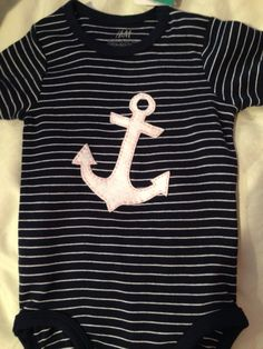 4892a3096 8 Best Nautical Baby Onesies images | Babies clothes, Nautical baby ...