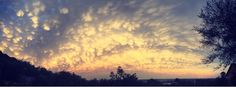 cotton ball clouds   #jozi #cotttonclouds #coulds #sunset #joziskyline #summer