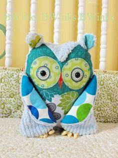Owl Pillow- BWinks- Etsy shop $38.00