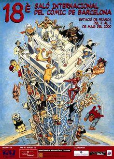 - 2000 18 Saló Internacional del Cómic de Barcelona. 7.000 m2 (80.000 vst.) 17.12.2016 CdC