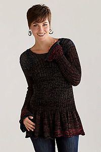 Flirty Sweater: Sue Peterson: Cotton Sweater | Artful Home