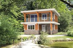 2 story Oakhill home plan Linwood Homes 924 sq ft