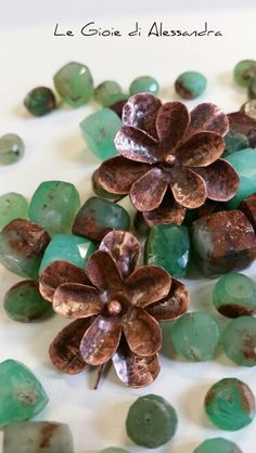 #legioiedialessandra #facebook #handmade #copper #orecchini #earrings #fattoamano #rame