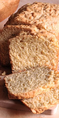 Buttermilk quick bread (yeast-free) Buttermilk quick bread (yeast free) & you don't even have to own a bread machine to make this easy bread recipe. The post Buttermilk quick bread (yeast-free) appeared first on Jennifer Odom. Yeast Free Recipes, Yeast Free Breads, No Yeast Bread, Healthy Bread Recipes, Allergy Free Recipes, Delicious Recipes, Baking Recipes, Dessert Recipes, Desserts