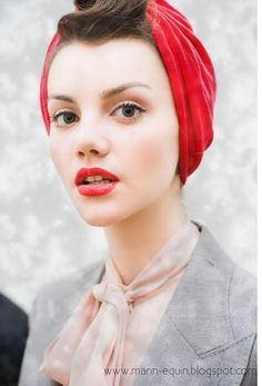 mannequin: how to tie a turban
