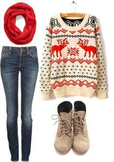 I want a sweater like that / fall fashion / fall outfit / fall style / winter fashion / winter outfit / winter style Mode Style, Style Me, Looks Street Style, Moda Casual, Winter Mode, 2016 Winter, Estilo Fashion, Looks Cool, Fashion Outfits