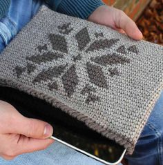 Tablet and e-reader case: Free Crochet Pattern!