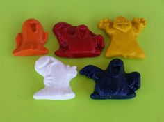 Ghost Crayons Halloween Crayons Candy by KrazyKoolKrayons on Etsy
