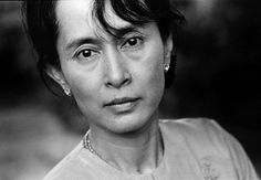 Aung San Sui Kyi - one of my heroes.