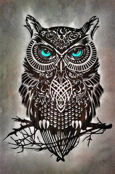 Owl Tattoo Design Ideas The Best Collection Top Rated Stylish Trendy Tattoo Designs Ideas For Girls Women Men Biggest New Tattoo Images Archive Owl Tattoo Drawings, Pencil Art Drawings, Skull Tattoos, Body Art Tattoos, Circle Tattoos, Fish Tattoos, Sleeve Tattoos, Owl Tattoo Design, Tattoo Designs