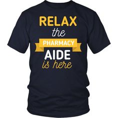 Pharmacy Aide T-shirt, hoodie and tank top. Pharmacy Aide funny gift idea.