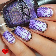 nails.quenalbertini: Heartnat | Purple Presents for Christmas!