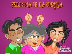 DÍA INTERNACIONAL DE LA SUEGRA Cada 26 de octubre se celebra el Día Internacional de la Suegra. Es un día en el que tanto las nueras como los yernos correspondientes regalan o agasajan a su suegra con un regalo para agradecerle su figura dentro de la familia.