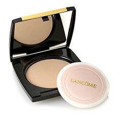 Lancome Dual Finish Versatile Powder Foundation Makeup- I have always been trying out new foundation powders over the years...And I gotta say, this is one of my favorite foundation powder. The coverage of this foundation is medium and build-able.  The longevity is excellent, and it generally lasts for at least 8 hrs without touch up. I LOVE the finish that this powder gives! Its matte, yet great for those w/ dry skin. It completely smooth out the canvas of the face. I Def recommend it!