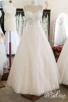 suknia ślubna w salonie Madleine w Poznaniu