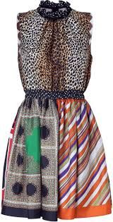Giane Capato: spring dolce gabbana patchwork long dress -