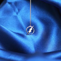 The Flash Sterling Silver Necklace by geekandfreak