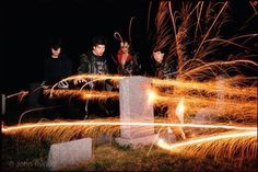 The Misfits, sparklers and a graveyard. Heaven in 1979.