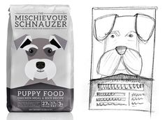 Dog Food Branding & Packaging by Toast Design