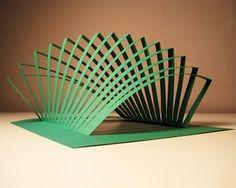 Ramin Razani kirigami art