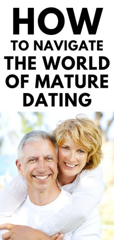 If you're a senior and still want to date, then this guide on senior dating will help you to navigate the world of mature dating with confidence. Dating Over 50, Love Dating, Dating Again, Dating Tips, Single Again, Dating Older Women, Senior Dating, Mature Men, Best Relationship