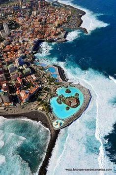 Lagos Martiánez. Puerto de la Cruz - Tenerife. Canary Islands. Spain