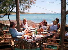 Spiaggia Taverna, Vatsa Bay, Kefalonia, Greece - said to be one of the best!